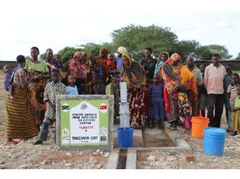Atakum Aihl Tanzanya'da Su Kuyusu Açtırdı