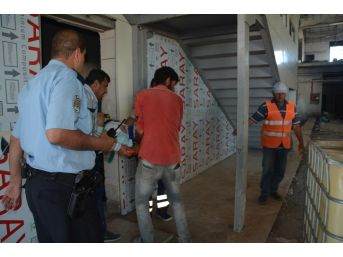 Havaalanı Terminal Binası İnşaatında İş Kazası: 1 Yaralı