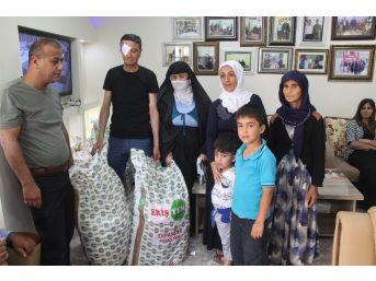 Silopi Kaymakamlığından Engellilere Gıda Yardımı
