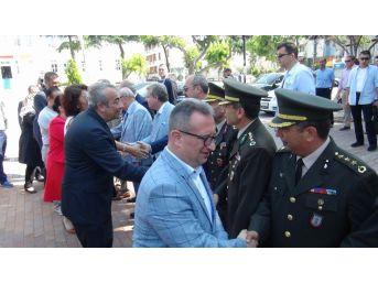 Tekirdağ'da Bayramlaşma Töreni Yoğun Katılımla Gerçekleşti