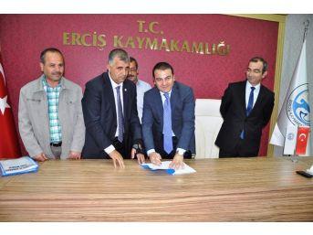 Erciş Belediyesi'nde Toplu İş Sözleşmesi