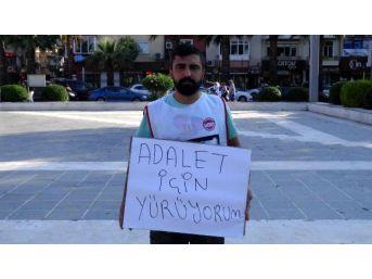Çanakkale'den İstanbul'a Tek Başına Yürüyecek