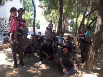 Urla'da 31 Kaçak Yakalandı