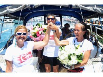 Kadın Kaptanlar Akdeniz Turunu Tamamladı