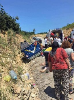 Sakarya'da Patpat Kazası: 2 Ölü 5 Yaralı