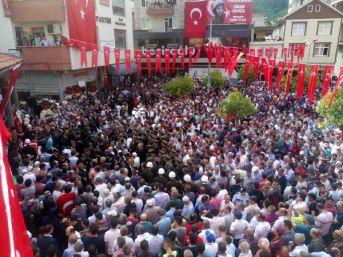 Şehit Jandarma Onbaşı Sinan Hamza'nın Cenazesi Trabzon'Da (2)