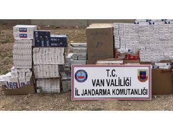Başkale'de 18 Bin 500 Paket Kaçak Sigara Ele Geçirildi