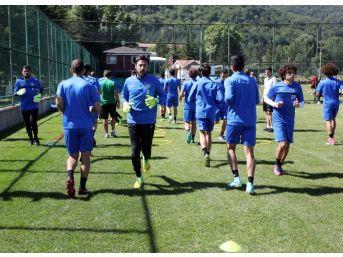 Adana Demirspor, Bolu'da Çalışmalarını Sürdürüyor