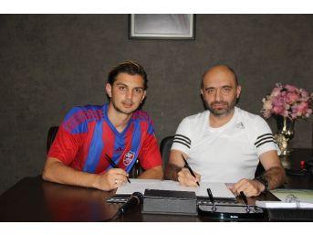 Karabükspor, Genç File Bekçisi Çağlar İle Sözleşme İmzaladı