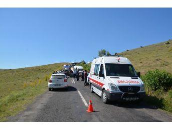 Sivas'ta Traktör Devrildi: 1 Ölü, 3 Yaralı