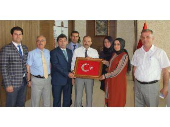 Bitlis Valisi Ustaoğlu'na Ziyaretler Devam Ediyor