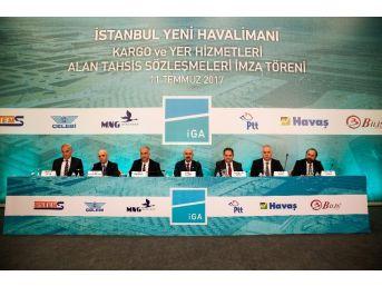 3. Havalimanı İçin 6 Şirketle 250 Milyon Euroluk Anlaşma İmzalandı