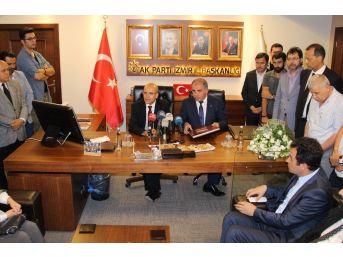 """Başbakan Yardımcısı Şimşek: """"milletimizin Gösterdiği Mücadele Sayesinde Türkiye O Badireyi Atlattı"""""""