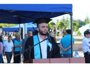 Mezuniyetinde 15 Temmuz'da Gazi Olduğu Geceyi Anlattı