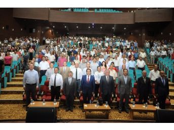 Uşak Üniversitesi 15 Temmuz Şehitlerini Anma Etkinliği Düzenledi