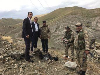 Van Güvenlik Korucuları Ve Şehit Aileleri Derneği Başkanı Kahraman'dan Güvenlik Korucularını Ziyaret