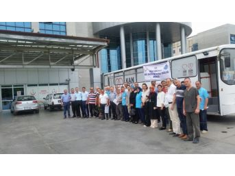 Hastane Çalışanları 15 Temmuz Şehitleri İçin Kan Verdi