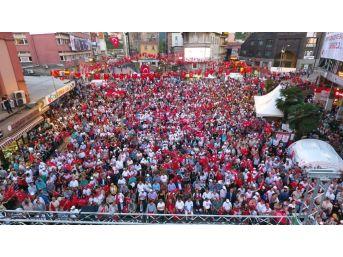 Zonguldak'ta 15 Temmuz Demokrasi Ve Milli Birlik Günü Etkinlikleri