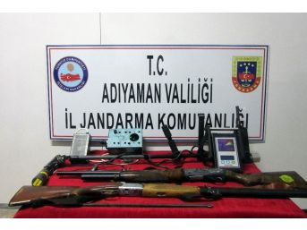 Kaçak Kazı Yapan Şahıslara Suçüstü Operasyon