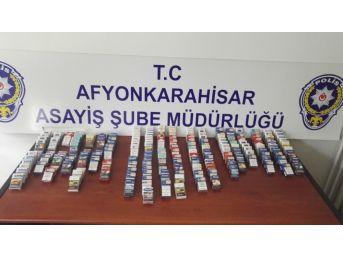 Küçük Yaştaki Hırsızlar Çaldıkları Sigaralar İle Yakalandı