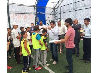 Çıldır'da Kur'an Kursu Futbol Turnuvası Sona Erdi
