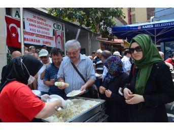 20 Temmuz Kıbrıs Şehitleri Balıkesir'de Anıldı