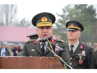 Bilecik 2.jandarma Er Eğitim Tugay Komutanı Tuğgeneral Halis Zafer Koç Terfi Etti