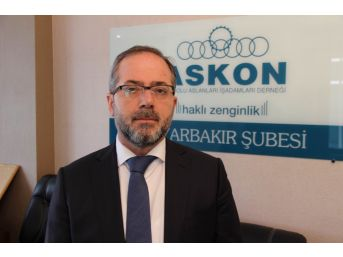 Askon Diyarbakır Şube Başkanı Aydın Altaç: