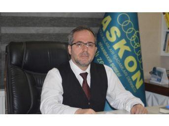 """Askon Diyarbakır Şube Başkanı Aydın Altaç: """"ibadet Özgürlüğüne Saldırılar Kabul Edilemez"""""""