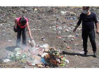 Diyarbakır'da 2 Ton Gıda İmha Edildi