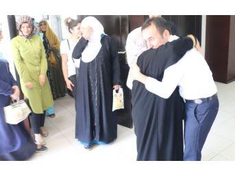 Şehit Ve Gazi Ailelerinden Başkan Kılıç'a Umre Teşekkürü