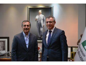 İlhan Aytekin'den Başkan Ataç'a Ziyaret