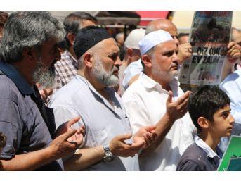 Mescid-i Aksa Şehitleri İçin Gıyabi Cenaze Namazı Kılındı