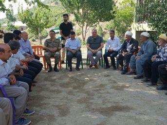 Kaymakam Türkman'dan Taziye Ziyareti