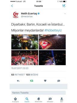 Hafızların Türk Bayrağı Kareografisi Twitter'da Gündem Oldu