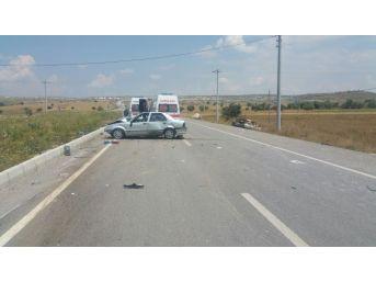 Çavdarhisar'da Trafik Kazası: 6 Yaralı