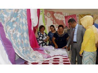 Akdeniz Belediyesi Kursiyerlerinden Dönem Sonu Sergisi