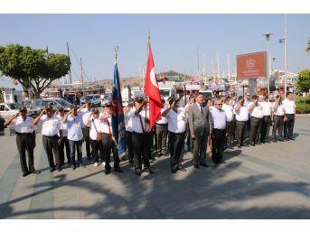 Bodrum'da Kıbrıs Barış Harekatı'nın 43. Yıl Anma Töreni