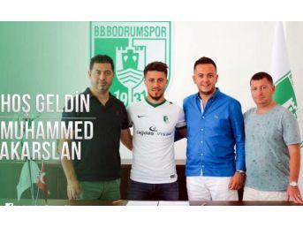 Bodrumspor'da Muhammed Imzaladı