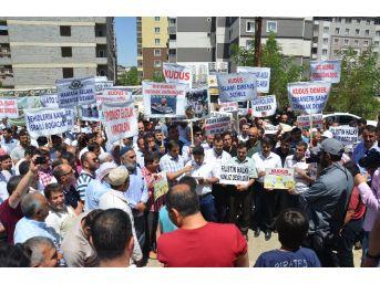 Muş'ta 'mescid-i Aksa' Protestosu
