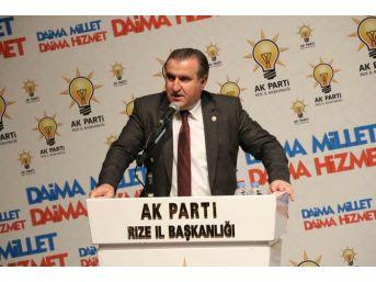 Rizeli Milletvekili Osman Aşkın Bak'ın Gençlik Ve Spor Bakanı Olmasından Mutlu