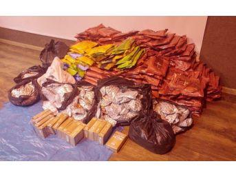 Şanlıurfa'da 653 Kilo Kaçak Nargile Tütünü Ele Geçirildi