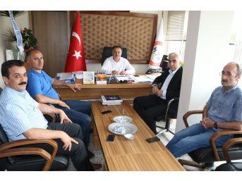 """Demirci'den Mta Bölge Müdürüne """"hayırlı Olsun"""" Ziyareti"""