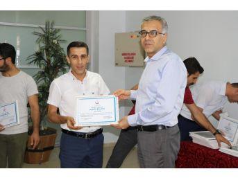 Kahta Devlet Hastanesi Futbol Takımı Ödüllendirildi