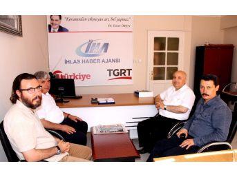 Rektör Gönüllü'den İha'ya Ziyaret