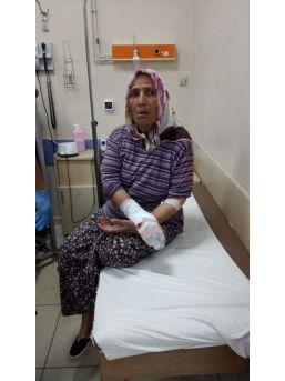 Kiracısına Gelen Misafiri İstemeyen Ev Sahibi Elinden Satırla Yaralandı