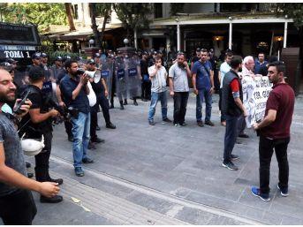 Başkent'te Gülmen Ve Özakça Eyleminde 2 Kişi Gözaltına Alındı