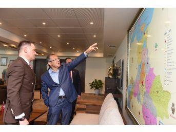 Arnavutluk Büyükelçisi'nden Başkan Uğur'a Ziyaret