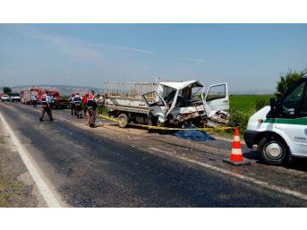 Gönen'de Trafik Kazası : 2 Ölü