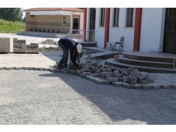 İmko Camisi'nin Çevre Düzenlemesi Yapılıyor